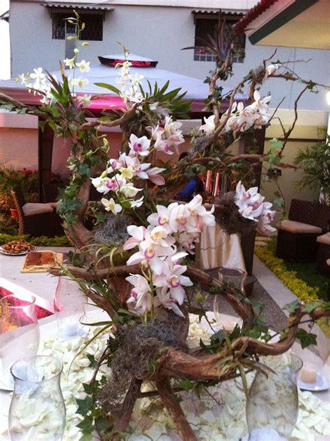 troncos decorados hermoso tronco decorado con orqu 237 deas ideas con