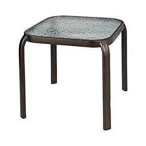 Outdoor Patio Side Table by Courtyard Creations Woodfield Stacking Side Table 16 By