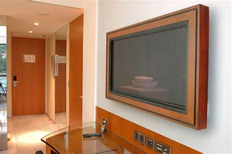tv coverups wall mounted lcd and plasma tv frames by hd envy