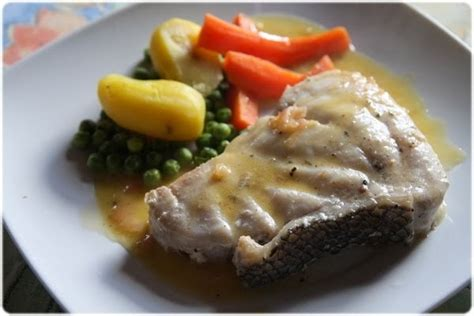 cuisiner le merou tasca da elvira m 233 rou grill 233 sauce beurre 224 l 233 chalote
