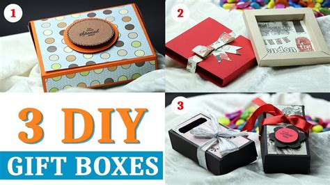 How To Make Handmade Paper Gift Boxes - gift box how to make gift box with paper handmade paper