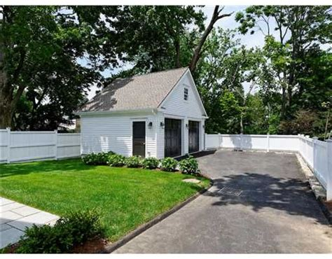 garage in the backyard detached garage with small side yard landscape pinterest