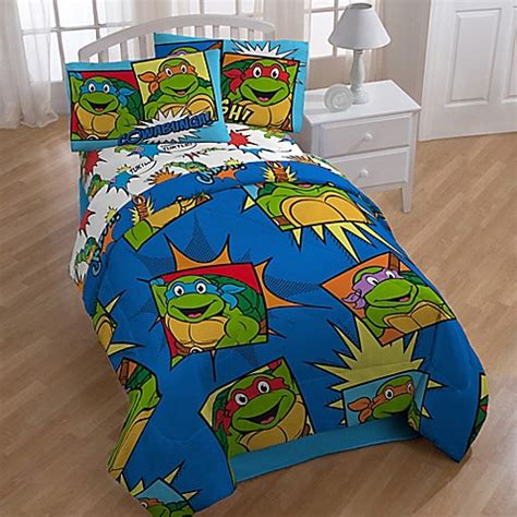 teenage mutant ninja turtle twin comforter nickelodeon teenage mutant ninja turtles team turtles 4