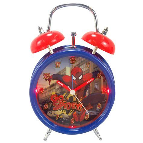 disney light up quartz analog bell alarm clock tvs electronics portable