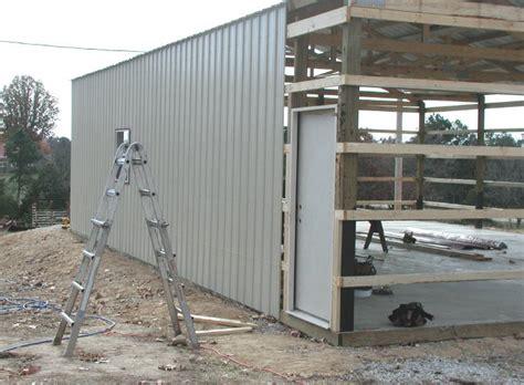 Discount Awnings Pole Barn