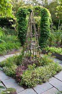 trellis in garden trellis in vegetable garden prosperous potager