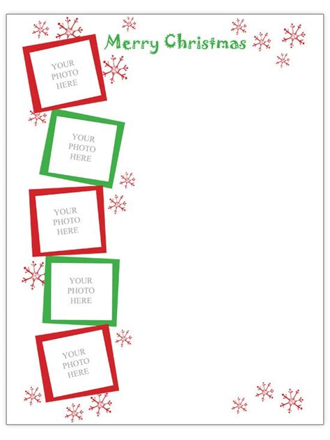 9 best images of free printable christmas letter templates