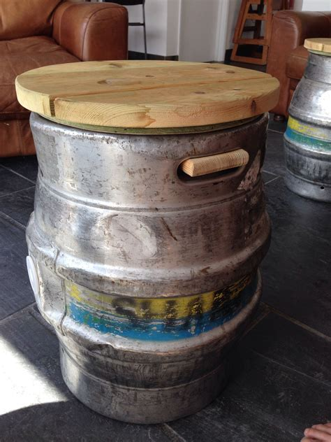 My hubs just drug 2 kegs home  ?   Diy and Painted