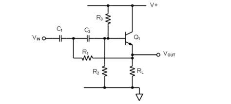 transistor lifier filter emitter follower lifier circuit images