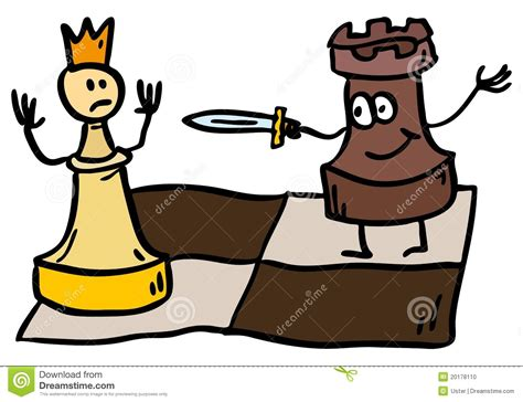 doodle chess doodle chess check stock photo image 20178110