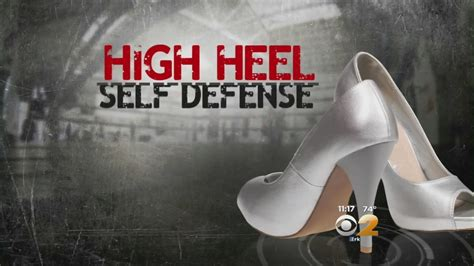 seen at 11 high heel self defense
