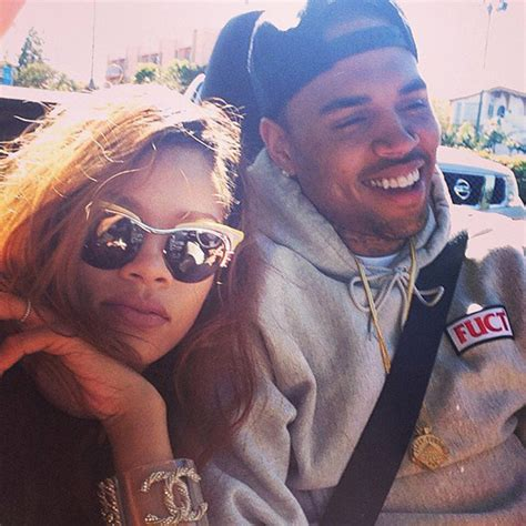 chris brown amp rihanna reuniting after his b day they plan