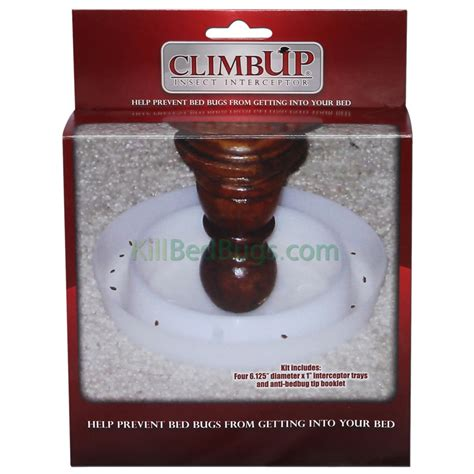 can bed bugs climb plastic early warning bed bug traps climbup insect interceptor