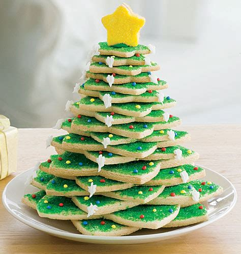 party accessories christmas tree cookies