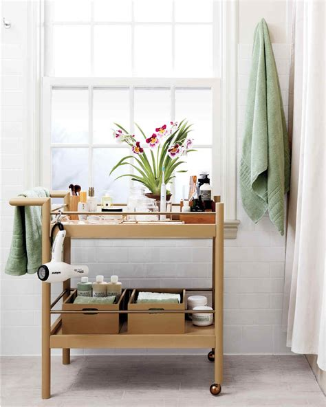 neat bathroom ideas smart space saving bathroom storage ideas martha stewart