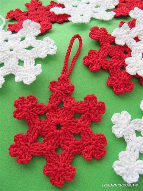 crochet ornaments 28 crochet yule decorations you can make in one evening books crochet pattern crochet snowflake pattern diy