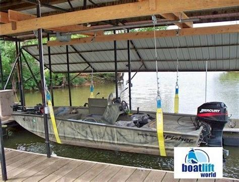 boat lift with straps 3000 lb sling boat lift boat lift world