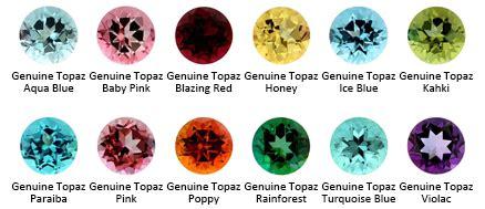 colors of topaz learning center color gem kolo piercing