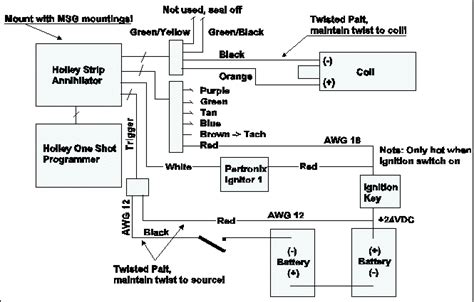 capacitor discharge ignition wiring capacitive discharge ignition