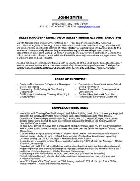 best resume format for senior manager senior manager resume template premium resume sles exle