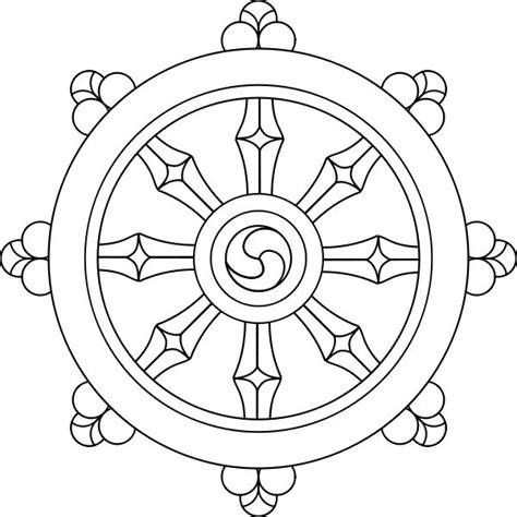 buddhist wheel of template buddhist wheel of dharma buddha buddhists