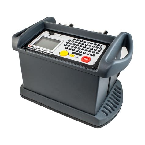 Micro Ohm Meter Megger Dlro200 Low Resistance Micro Ohm Meter Dlro 200