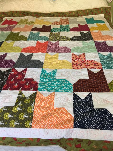 twin coverlets and quilts cat quilt twin size quilt cat lover gift quilts and