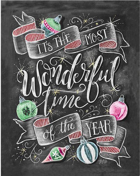 wonderful time   year christmas chalkboard art christmas chalkboard