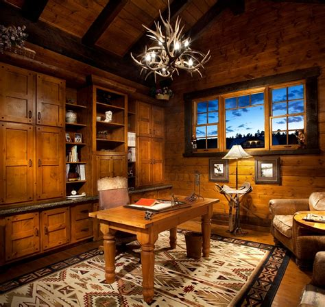 rustic home office rustic office decorating ideas pictures yvotube com