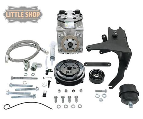 shop mfg gm 4 3 5 0 5 7 vortec engine driven compressor kit complete air ride