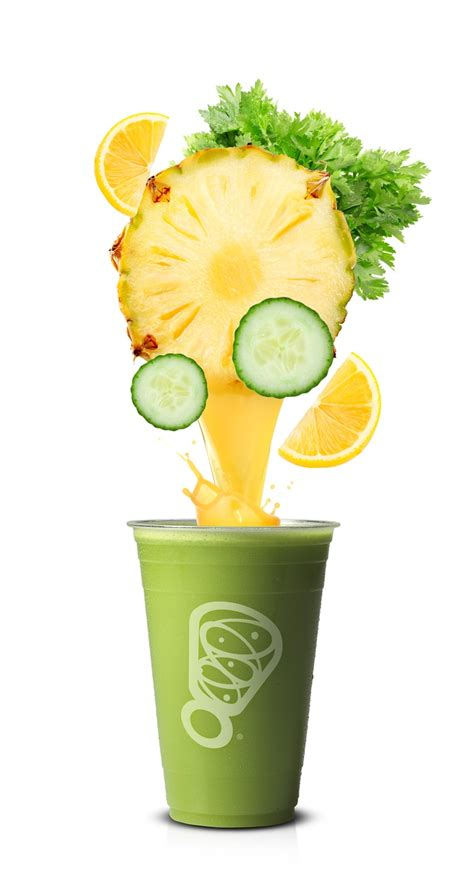 Pineapple And Cucumber Detox by Refresher Juice Pineapple Celery Cucumber Lemon
