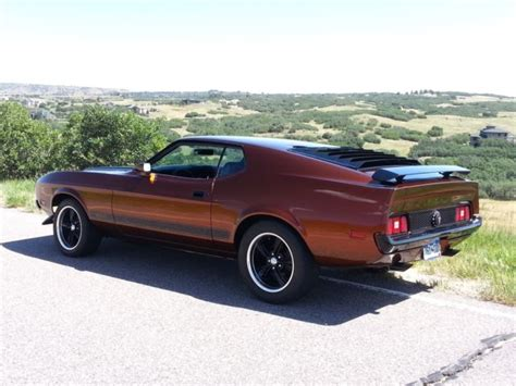 1973 ford mustang sportsroof fastback mach 1 burnt orange for sale used cars for sale 1973 ford mustang sportsroof fastback mach 1 521ci 1972 1971 1970 1969 1968 1967 for sale