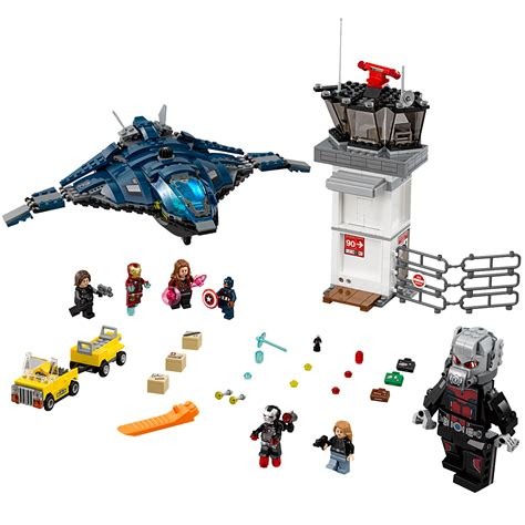Lego Airport Battle 76051 lego marvel airport battle 807