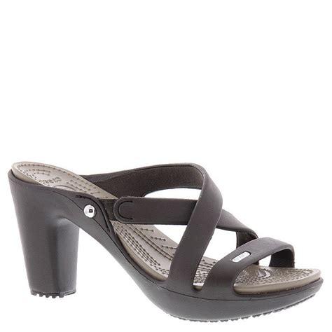 s crocs sandals crocs cyprus iv heel w s sandal ebay