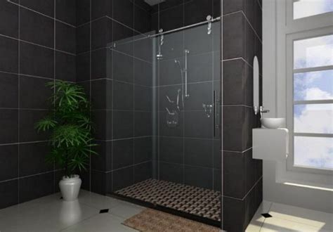 modern bathroom shower 20 modern bathrooms with black shower tile