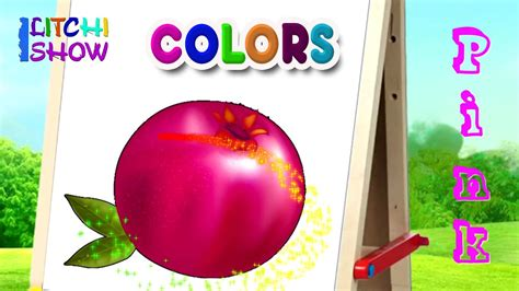 color names baby color names with fruits color names for children learn