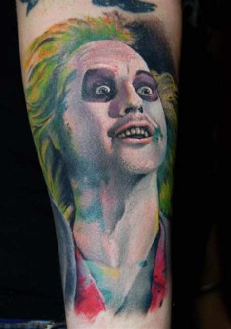 movie tattoos awesome inspired tattoos beetlejuice memes