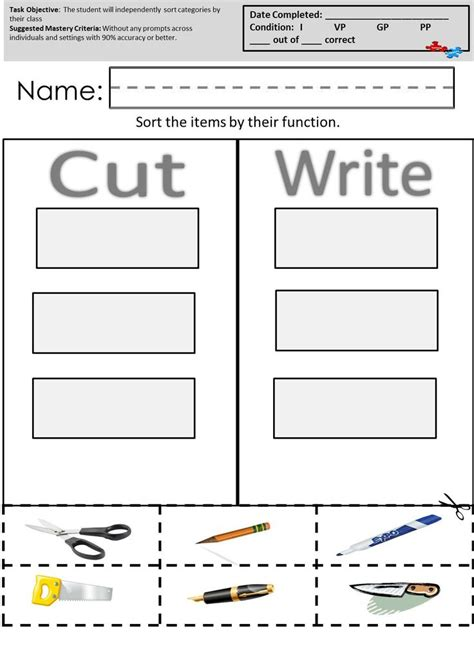 Autism Worksheets by 7 Best Images About Autism Worksheets Visual Performance