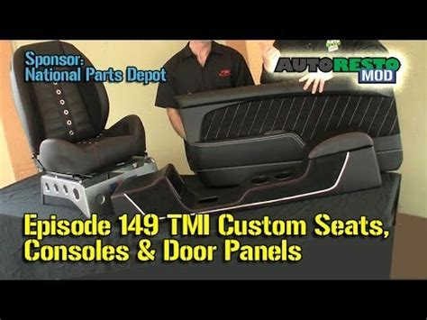 Camaro Upholstery Kits Tmi New Bucket Seats For Classic Car Console Door Panels