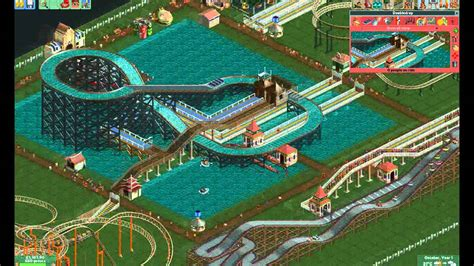 how to build a boat roller r roller coaster tycoon 2 pt5 let s build a water ride