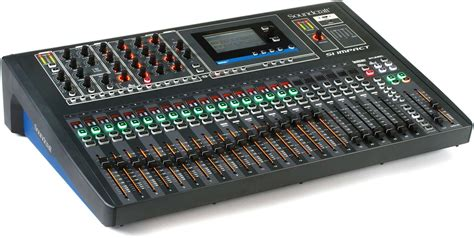 soundcraft si impact 40 input digital mixing console and