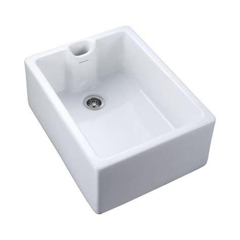 Classic Kitchen Sink Rangemaster Range Cookers Classic Belfast Sink 1 0 Bowl Reversible In White Rangemaster Range
