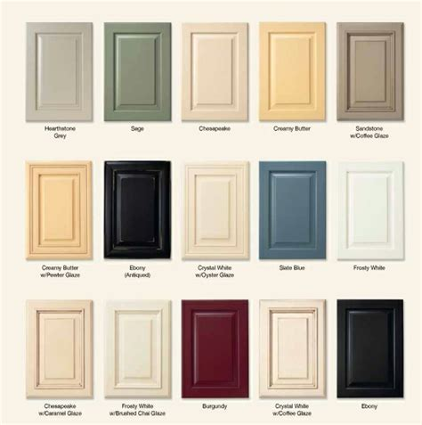 cabinets colors how to choose kitchen cabinet color look you can