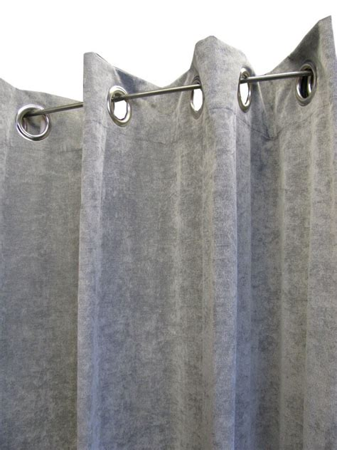 vorhangschals grau 214 senschal 214 senvorhang vorhang 140x245cm luciano h grau ebay