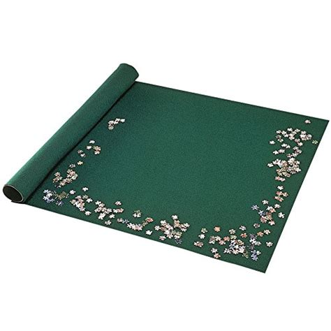 Portable Puzzle Mat by Bits And Pieces Portable Jigsaw Roll Up Mat Store