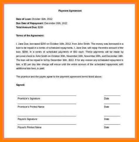 take car payments contract template 9 taking car payments contract sle pay stub format