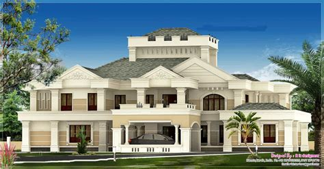 new luxury house plans luxurious kerala bungalow design at 5676 sq ft