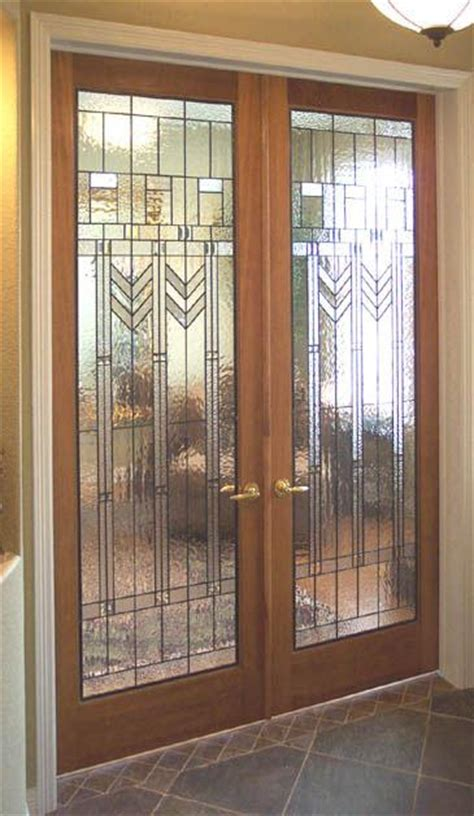 Interior French Doors With Leaded Glass 5 Photos Interior Beveled Glass Doors