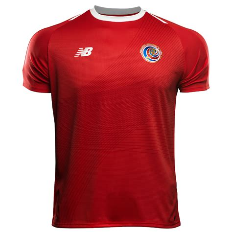 costa rica 2018 world cup new balance home kit 17 18
