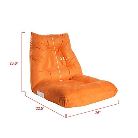 lazy position merax adjustable 5 position floor chair folding lazy sofa floor sofa chair cushion